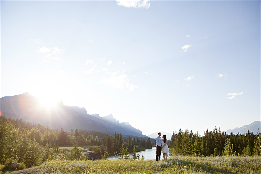 Canmore Alberta Engagement Photography