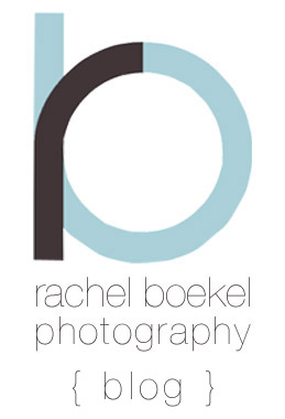 Rachel Boekel Photography Blog logo